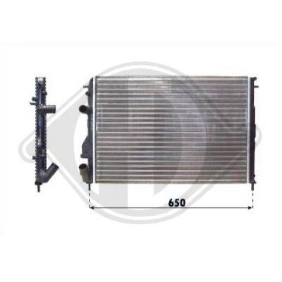 Radiateur, refroidissement du moteur - HDK-Germany - 77HDK8446305