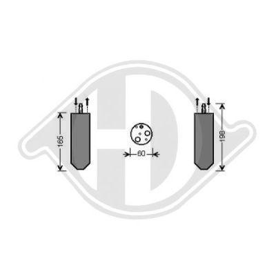Filtre déshydratant, climatisation - HDK-Germany - 77HDK8446341