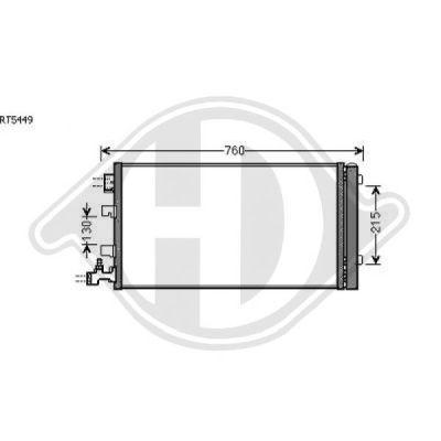 Condenseur, climatisation - HDK-Germany - 77HDK8446500