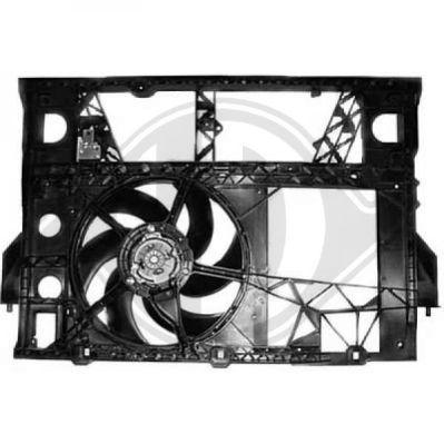 Ventilateur, refroidissement du moteur - Diederichs Germany - 8448612