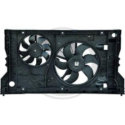 Ventilateur, refroidissement du moteur - HDK-Germany - 77HDK8448614
