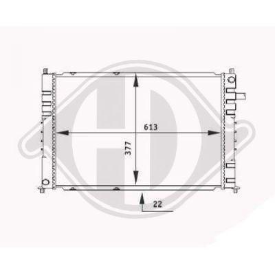 Condenseur, climatisation - Diederichs Germany - 8448901