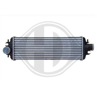 Intercooler, échangeur - Diederichs Germany - 8449510