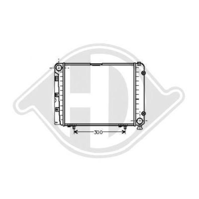 Radiateur, refroidissement du moteur - Diederichs Germany - 8500129