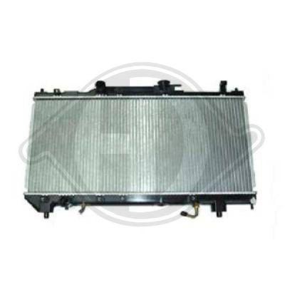 Radiateur, refroidissement du moteur - Diederichs Germany - 8500187