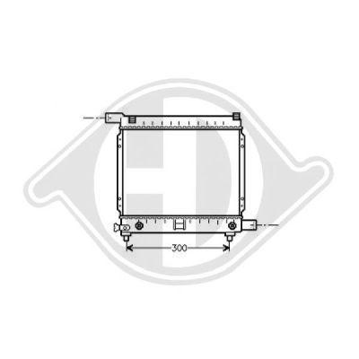Radiateur, refroidissement du moteur - Diederichs Germany - 8500319
