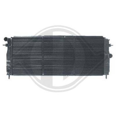 Radiateur, refroidissement du moteur - Diederichs Germany - 8500764