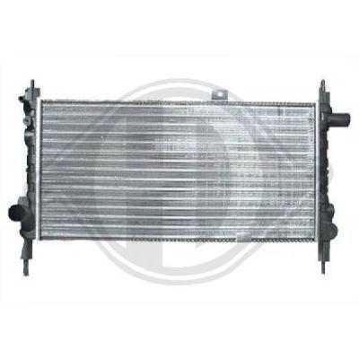 Radiateur, refroidissement du moteur - Diederichs Germany - 8500806