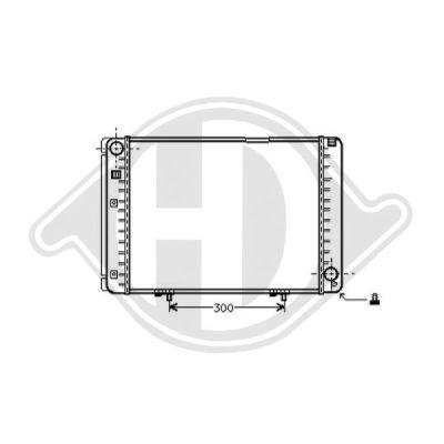 Radiateur, refroidissement du moteur - Diederichs Germany - 8501135