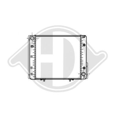 Radiateur, refroidissement du moteur - HDK-Germany - 77HDK8501218