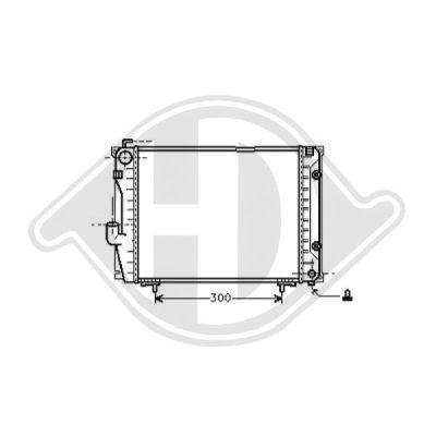 Radiateur, refroidissement du moteur - Diederichs Germany - 8501226