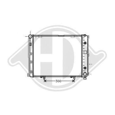 Radiateur, refroidissement du moteur - Diederichs Germany - 8502034