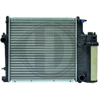 Radiateur, refroidissement du moteur - Diederichs Germany - 8502166