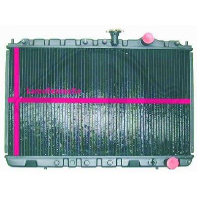 Radiateur, refroidissement du moteur - Diederichs Germany - 8502448