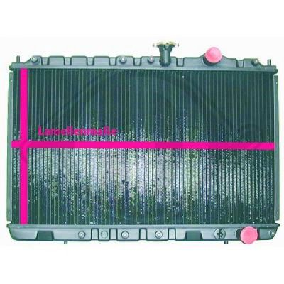 Radiateur, refroidissement du moteur - HDK-Germany - 77HDK8502448