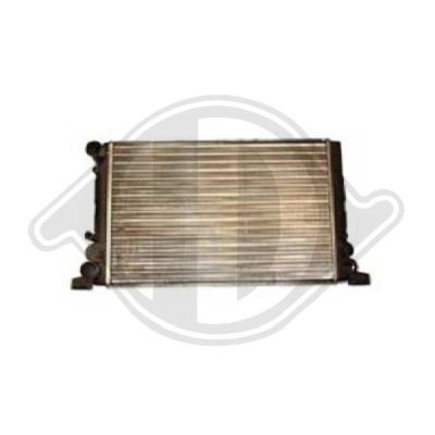 Radiateur, refroidissement du moteur - Diederichs Germany - 8502521