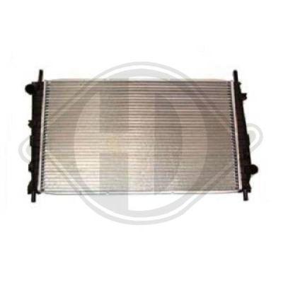 Radiateur, refroidissement du moteur - HDK-Germany - 77HDK8502935