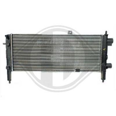 Radiateur, refroidissement du moteur - HDK-Germany - 77HDK8503388