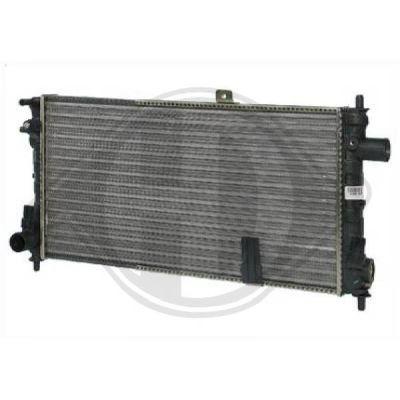 Radiateur, refroidissement du moteur - Diederichs Germany - 8503396
