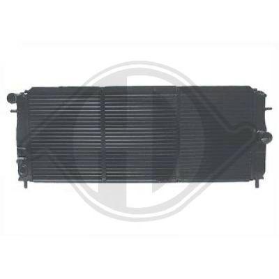 Radiateur, refroidissement du moteur - Diederichs Germany - 8503891