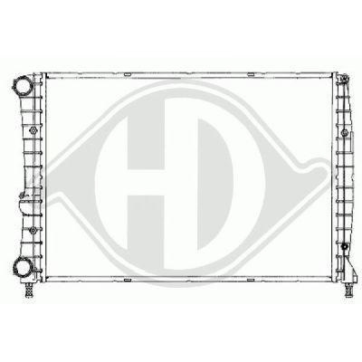 Radiateur, refroidissement du moteur - HDK-Germany - 77HDK8504103