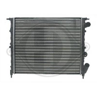 Radiateur, refroidissement du moteur - Diederichs Germany - 8505367