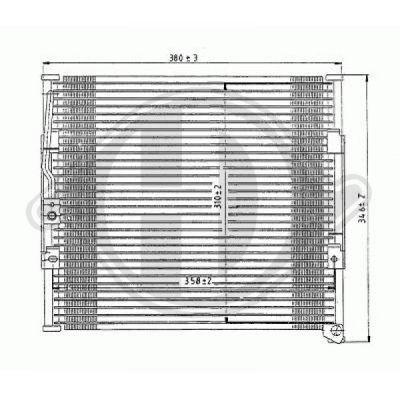 Condenseur, climatisation - Diederichs Germany - 8520501