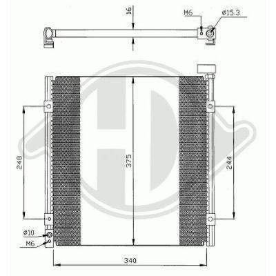 Condenseur, climatisation - HDK-Germany - 77HDK8520600