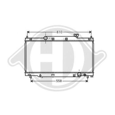 Radiateur, refroidissement du moteur - Diederichs Germany - 8520820