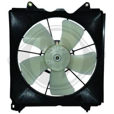 Ventilateur, refroidissement du moteur - Diederichs Germany - 8521920