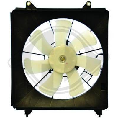 Ventilateur, condenseur de climatisation - Diederichs Germany - 8521921