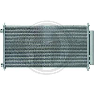 Condenseur, climatisation - Diederichs Germany - 8521922