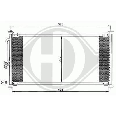 Condenseur, climatisation - HDK-Germany - 77HDK8522200