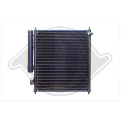 Condenseur, climatisation - Diederichs Germany - 8524000