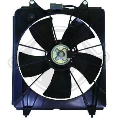 Ventilateur, refroidissement du moteur - Diederichs Germany - 8528310