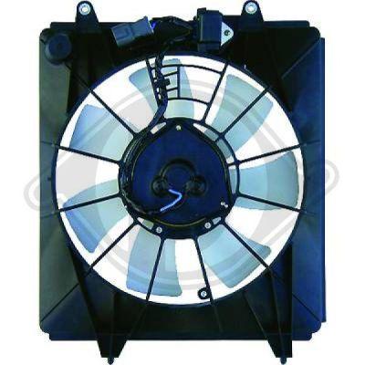 Ventilateur, condenseur de climatisation - Diederichs Germany - 8528311