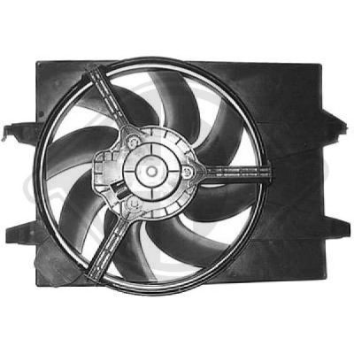 Ventilateur, refroidissement du moteur - Diederichs Germany - 8560505
