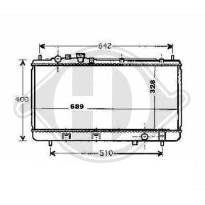 Radiateur, refroidissement du moteur - HDK-Germany - 77HDK8561706