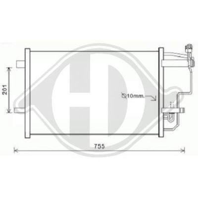 Condenseur, climatisation - HDK-Germany - 77HDK8561900
