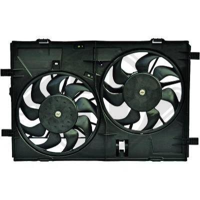 Ventilateur, refroidissement du moteur - Diederichs Germany - 8562608