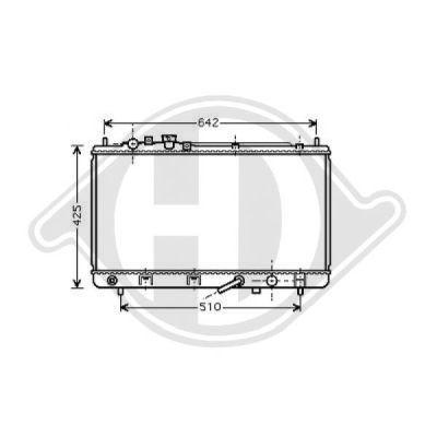 Radiateur, refroidissement du moteur - HDK-Germany - 77HDK8568006