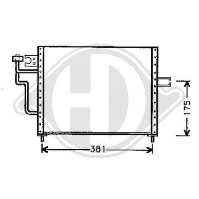 Condenseur, climatisation - HDK-Germany - 77HDK8580520