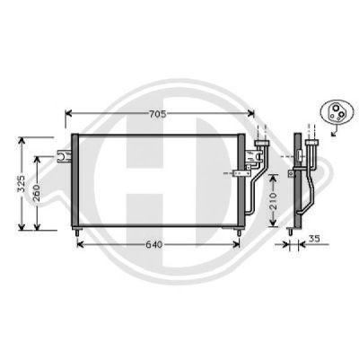 Condenseur, climatisation - HDK-Germany - 77HDK8580521