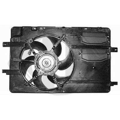 Ventilateur, refroidissement du moteur - Diederichs Germany - 8580715