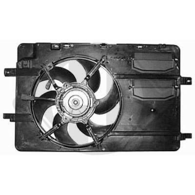 Ventilateur, refroidissement du moteur - Diederichs Germany - 8580716