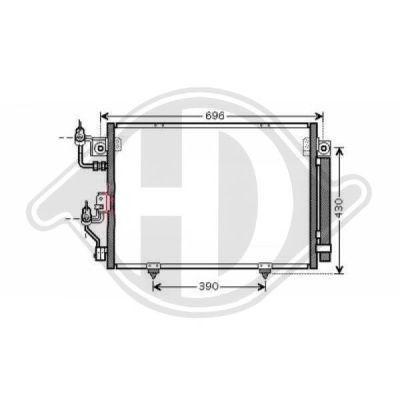 Condenseur, climatisation - HDK-Germany - 77HDK8584404