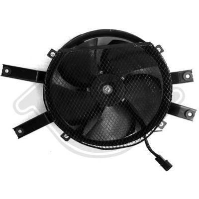 Ventilateur, refroidissement du moteur - Diederichs Germany - 8588001