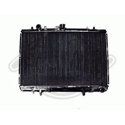 Radiateur, refroidissement du moteur - HDK-Germany - 77HDK8588005