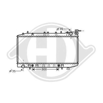 Condenseur, climatisation - Diederichs Germany - 8601500