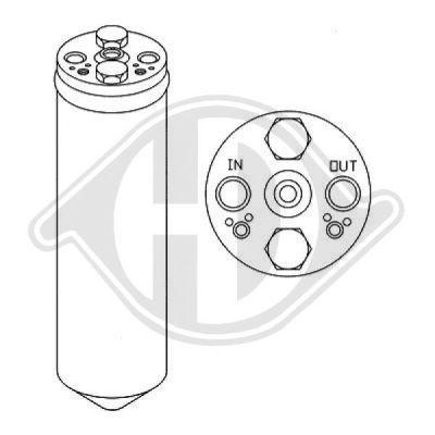 Filtre déshydratant, climatisation - HDK-Germany - 77HDK8602201